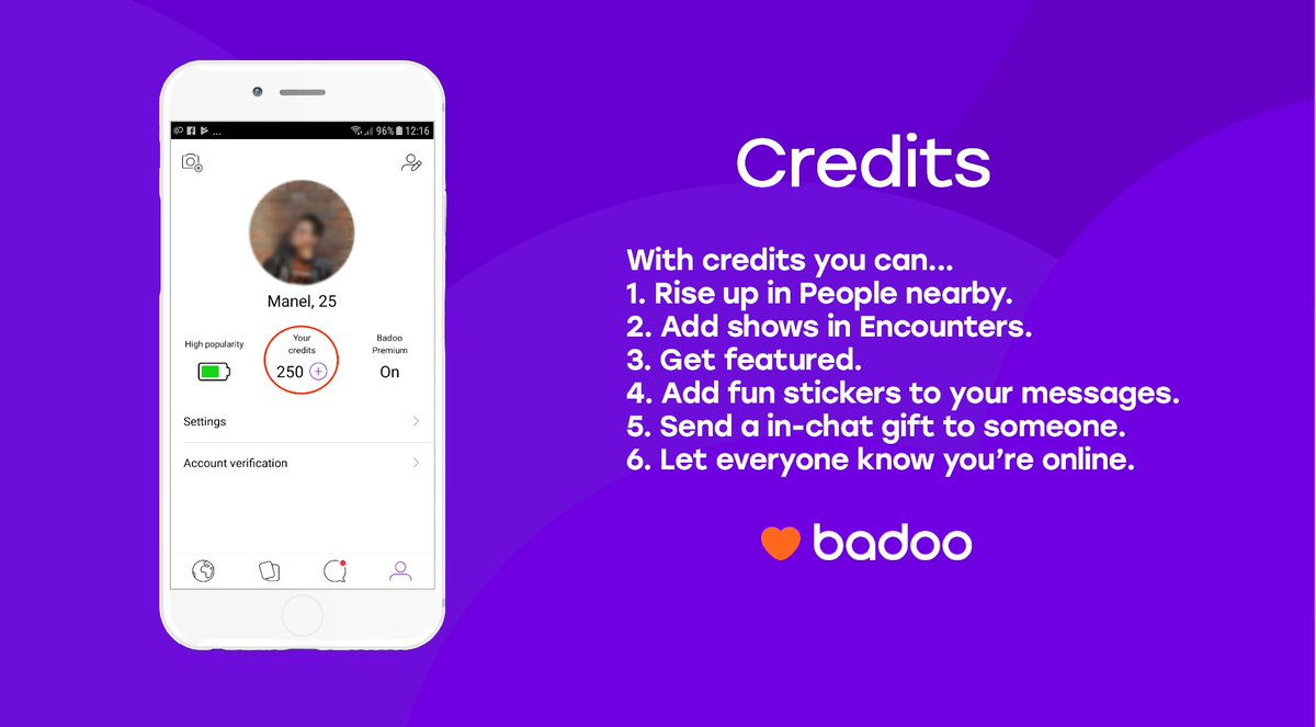 Credits badoo apk free hack Badoo for