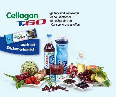 Jeden Tag in Bestform mit Cellagon T.GO