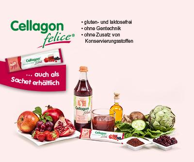 Schönheit zum trinken Cellagon felice