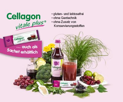 Ernährung mit Cellagon vitale plus