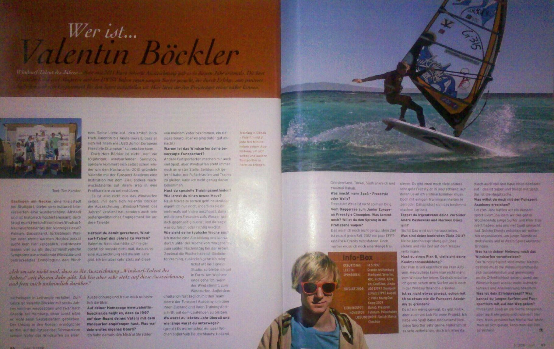 Wer ist Valentin Böckler, SURF magazin