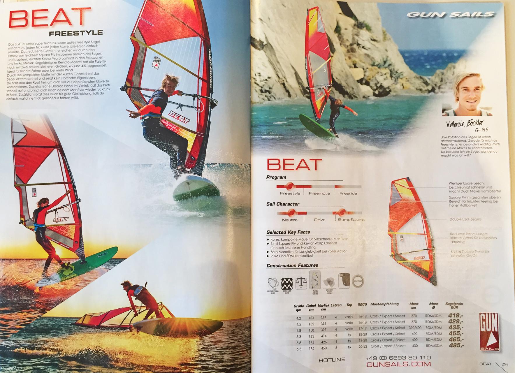 Gun Sails Katalog