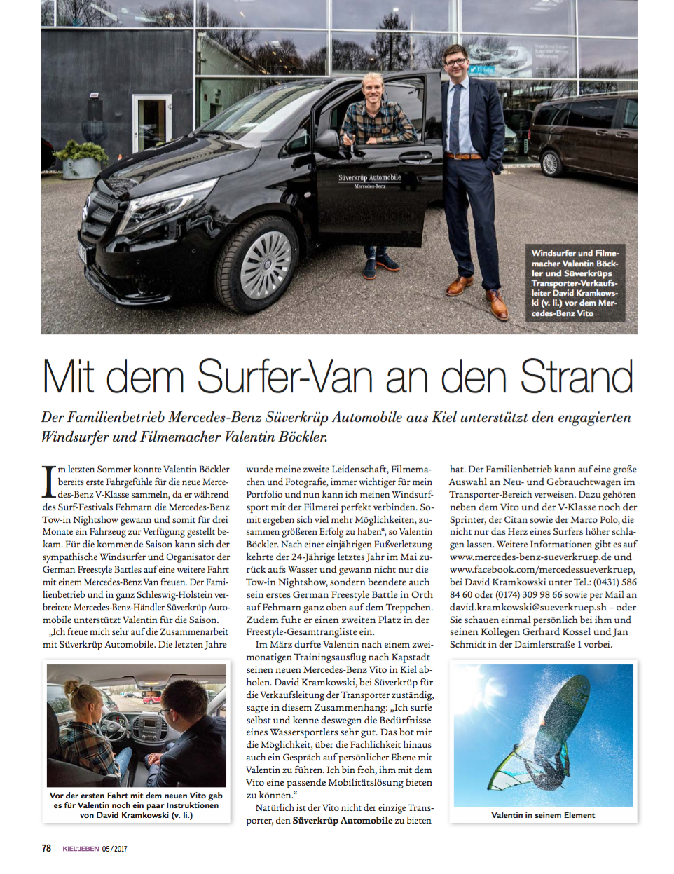 KielErLeben Süverkrüp Automobile Kooperation