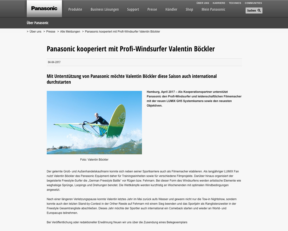 Panasonic Kooperation