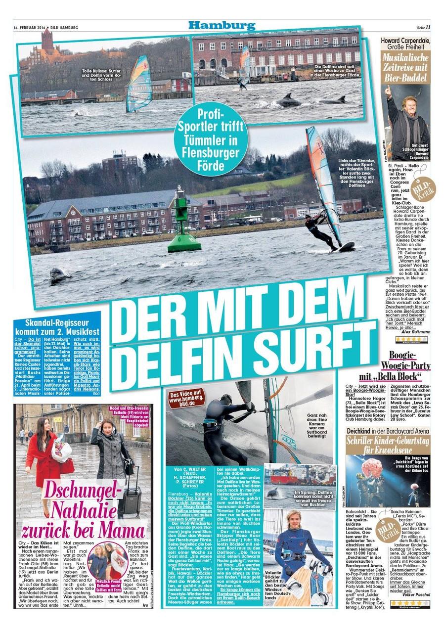 BILD Hamburg Delfin Story