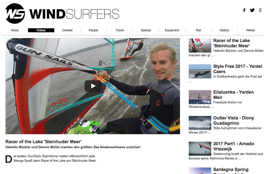 Windsurfers, Video Vlog