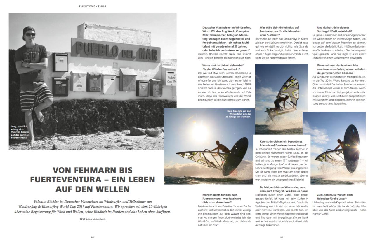 AIDA Magazin, Fuerteventura Interview