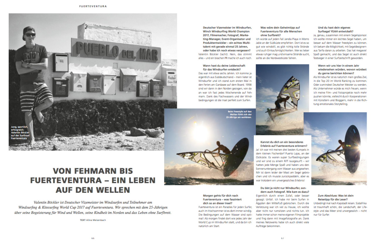 AIDA Magazin, Fuerteventura Interview