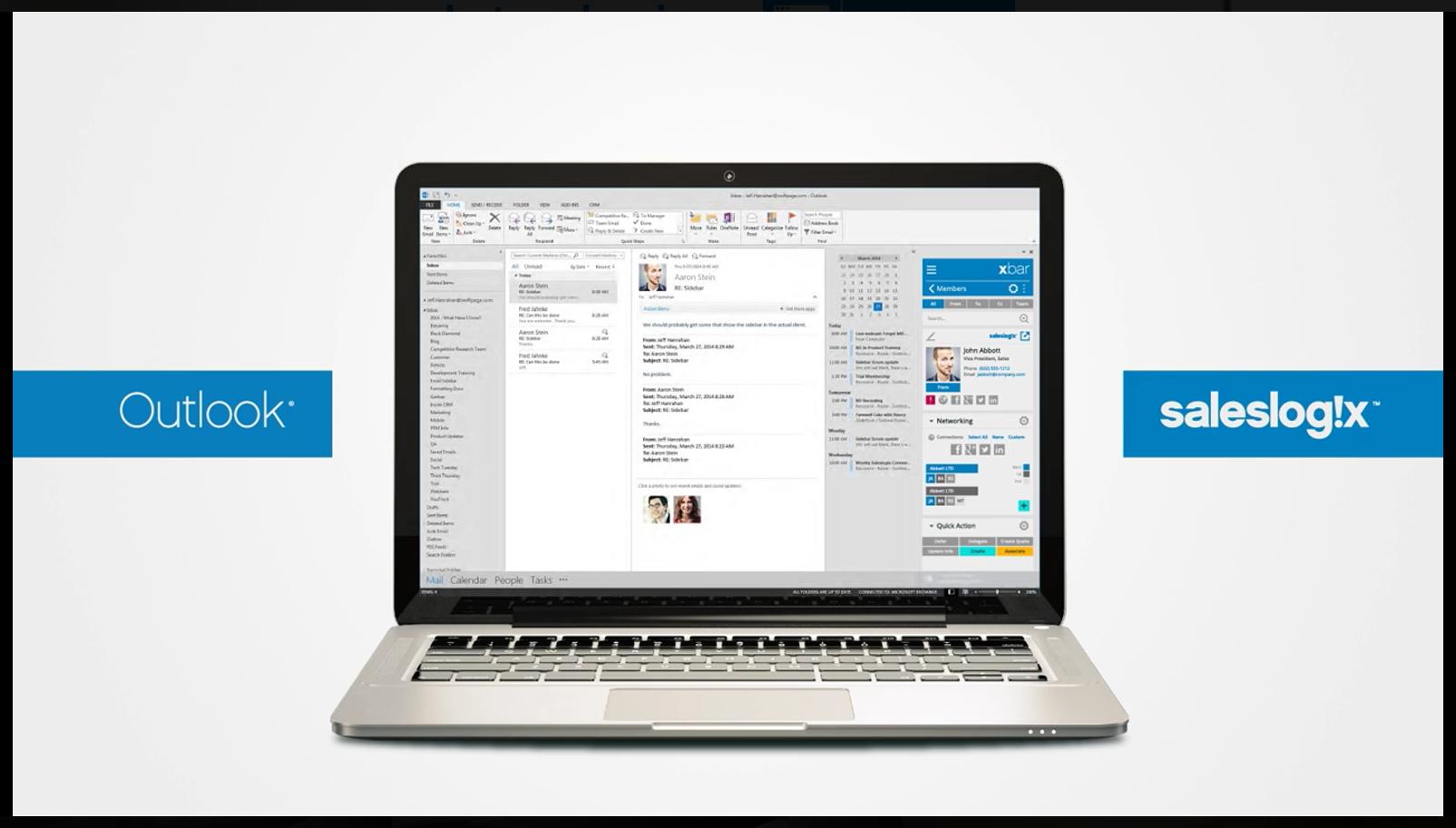 Sie arbeiten täglich mit Outlook und möchten nicht auf CRM Funktionalität verzichten?
