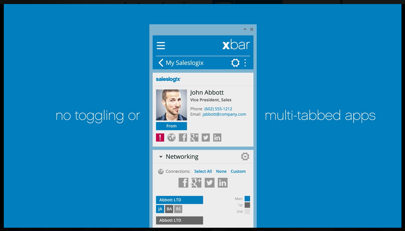 Nutzen Sie Ihre CRM Möglichkeiten direkt aus Outlook heraus