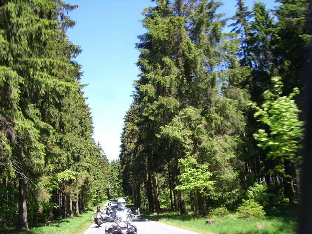 Straßen durch den Thüringer Wald