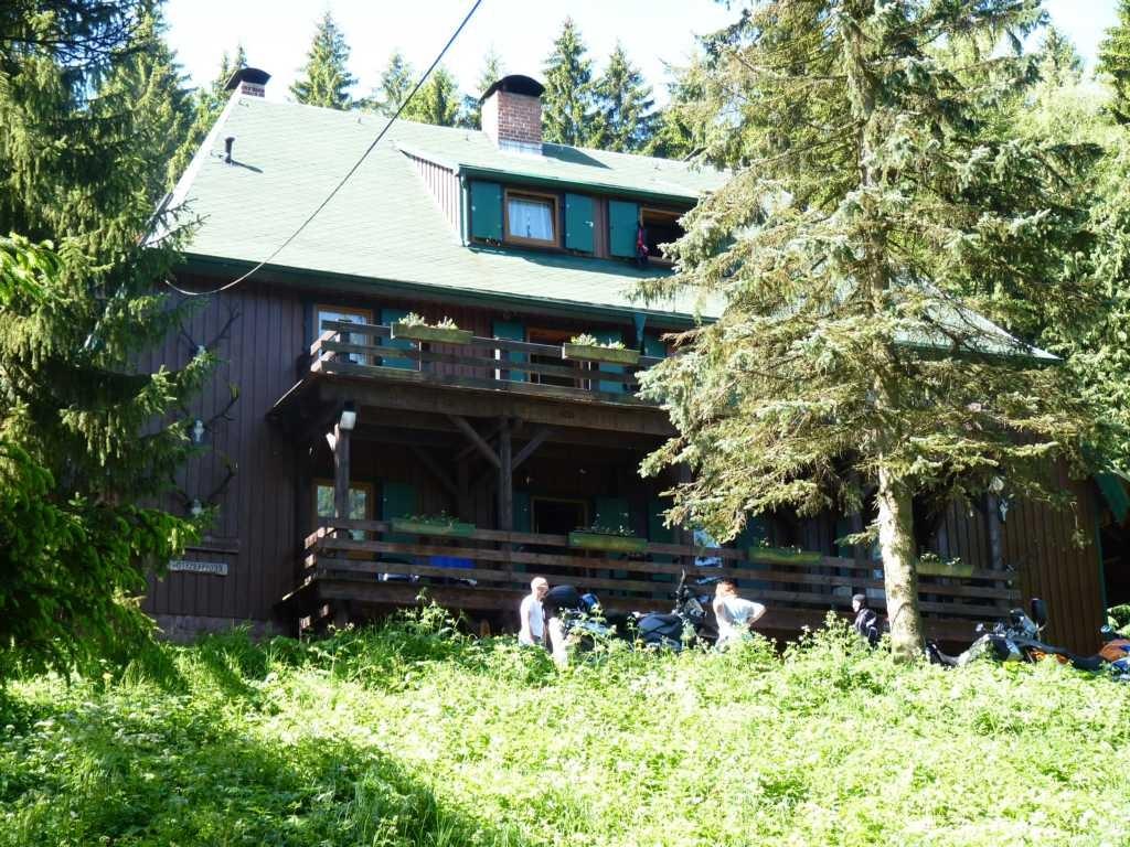 Forsthaus unsere Unterkunft