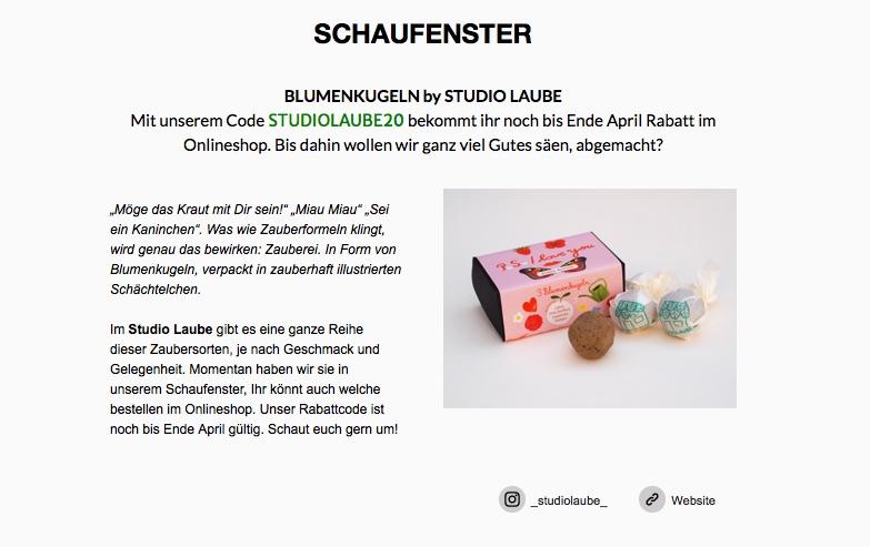 Saatkugeln, STUDIOLAUBE, Seedbomb, Illustrated Packaging, Diana Laube, Seedbomb