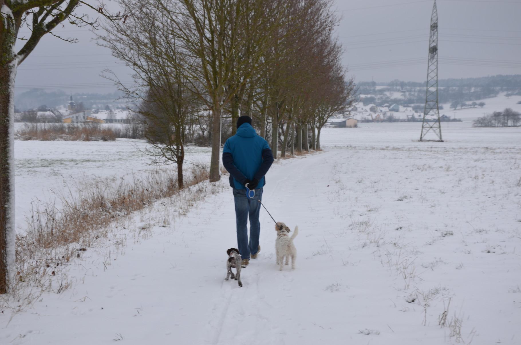 Gemeinsamer Ausflug im Schnee