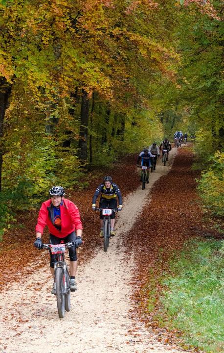 """... am Samstag großteils auf der """"Engel Cup Strecke"""" durch die Wälder ..."""
