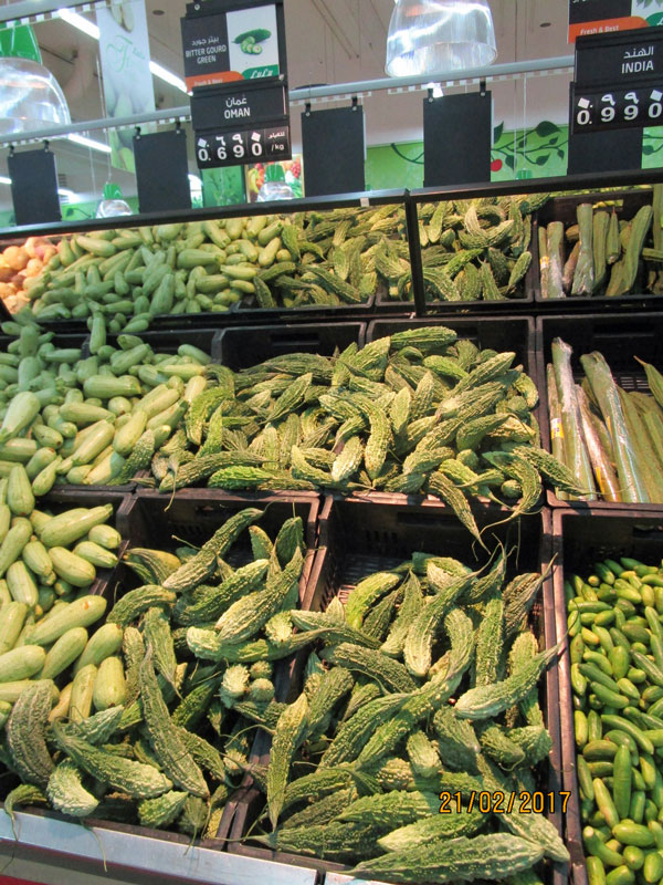 Bild 8 Obst und Gemüse in der Lulu Shopping Mall.