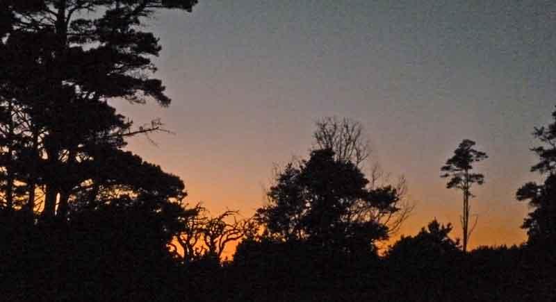 Bild 33 Sonnenuntergang am Gerstle Cove CG