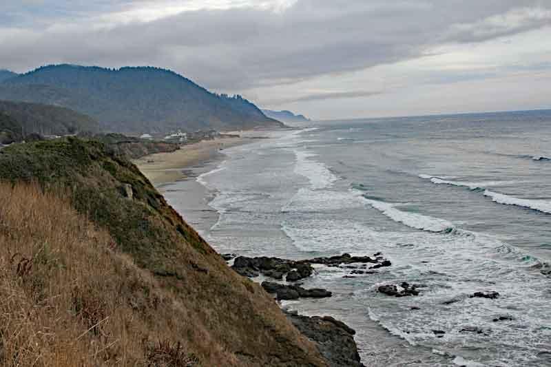 Bild 2 Weiter auf der 101 in den Süden in Oregon, immer wieder tolle Blicke aufs Meer