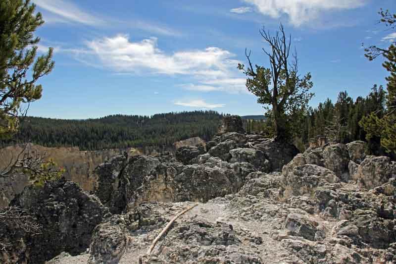 """Bild 9 Yellowstone, am Yellowstone """"Grand Canyon"""""""