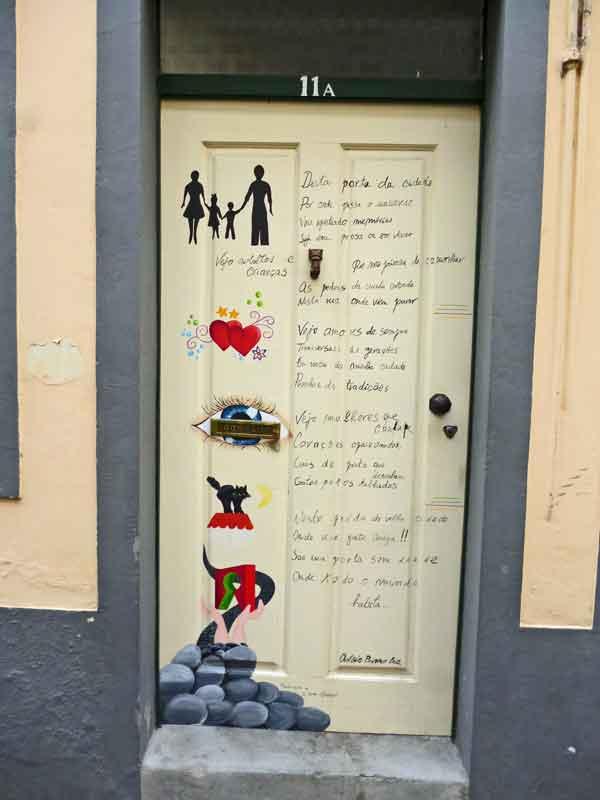 Bild 47 Tolle Haustürbemalungen in Funchal