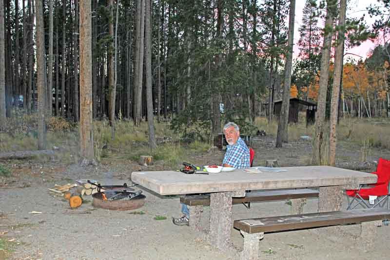 Bild 7 Auf dem Spring Hill Campground bei Anaconda in Monatana