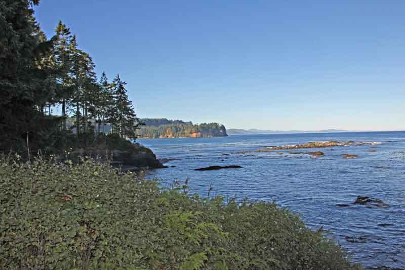 Bild 7 Blick auf die Küste der Olympic Peninsula