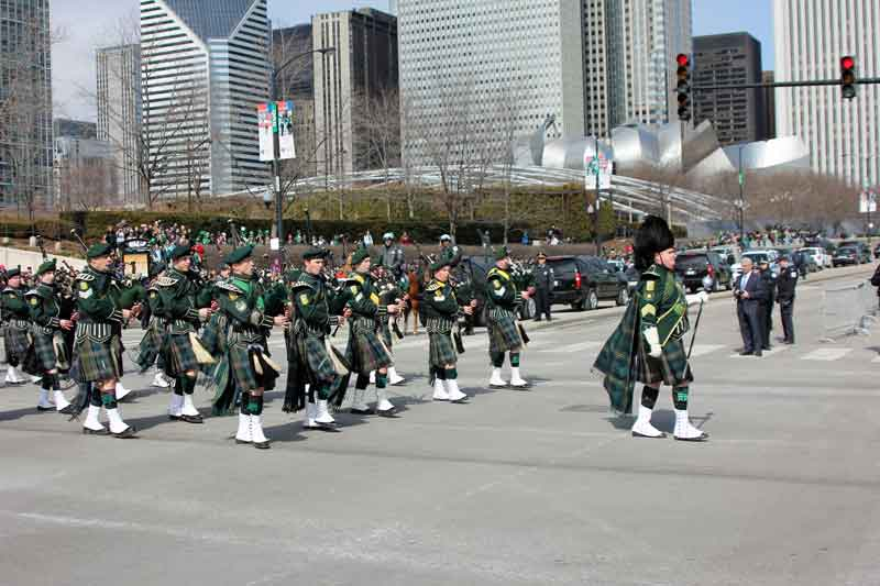 Bild 20 Parade am St. Patricks day in Chicago