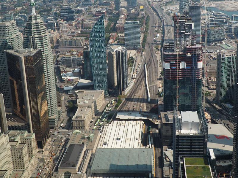 Bild 38 Blick vom CN Tower