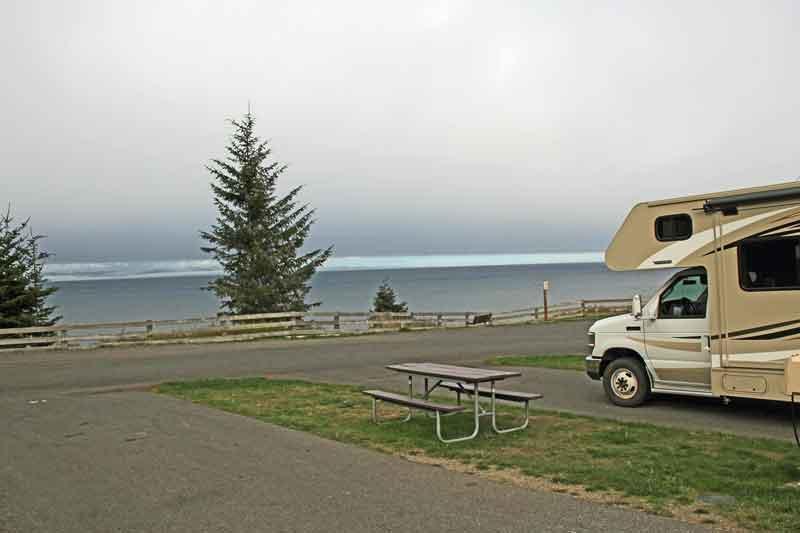 Bild 22 Unser Stellplatz für heute auf dem Salt Creek Campground