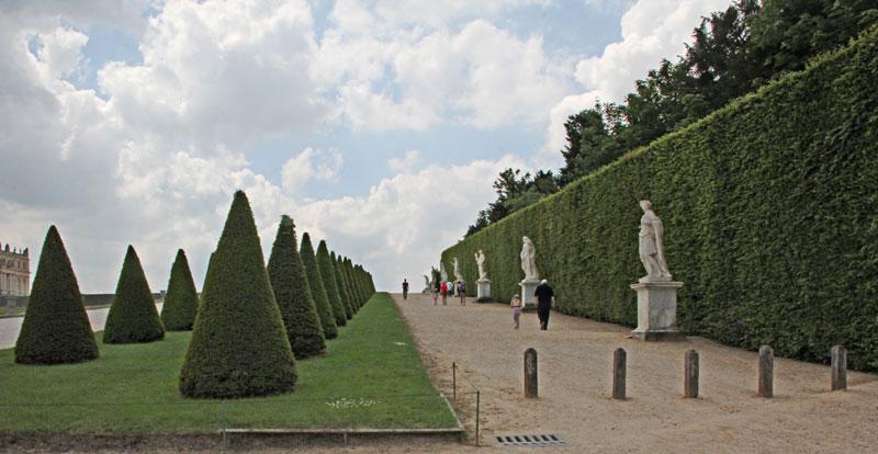 Bild 8 Parkanlagen von Versailles