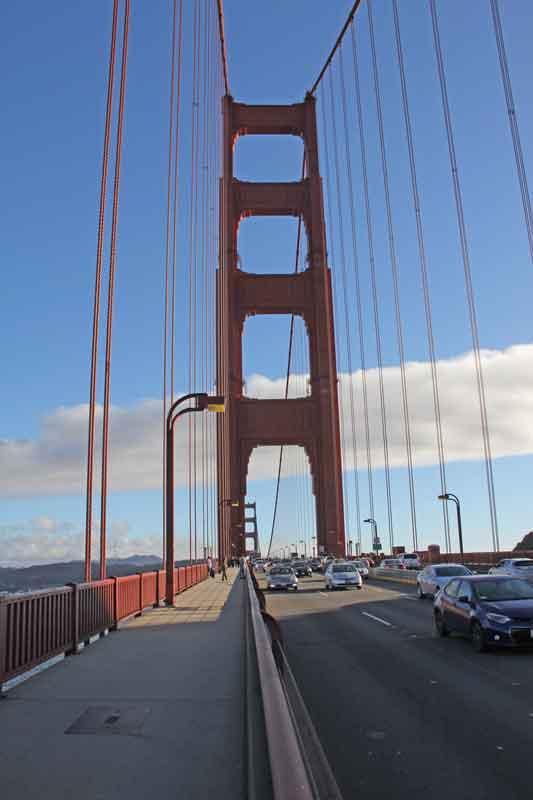 Bild 61 Auf der Golden Gate Brücke