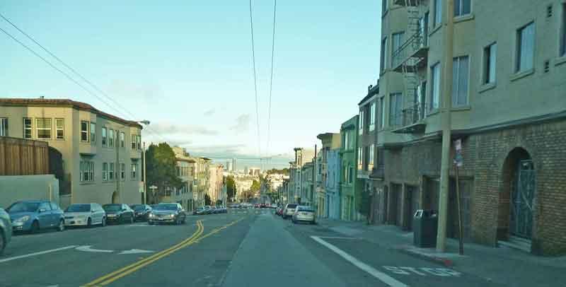 Bild 64 Auf dem Weg zur Haight Street