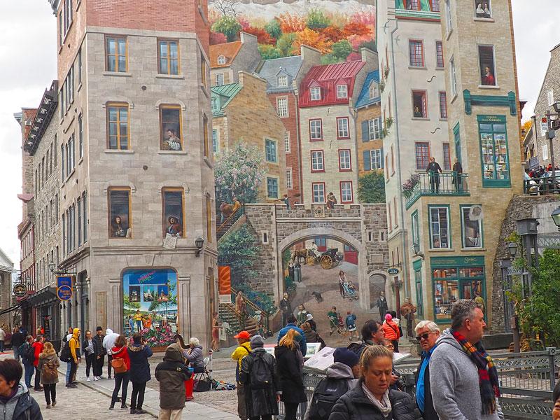 Bild 23 Bummel durch die Straßen von Quebec