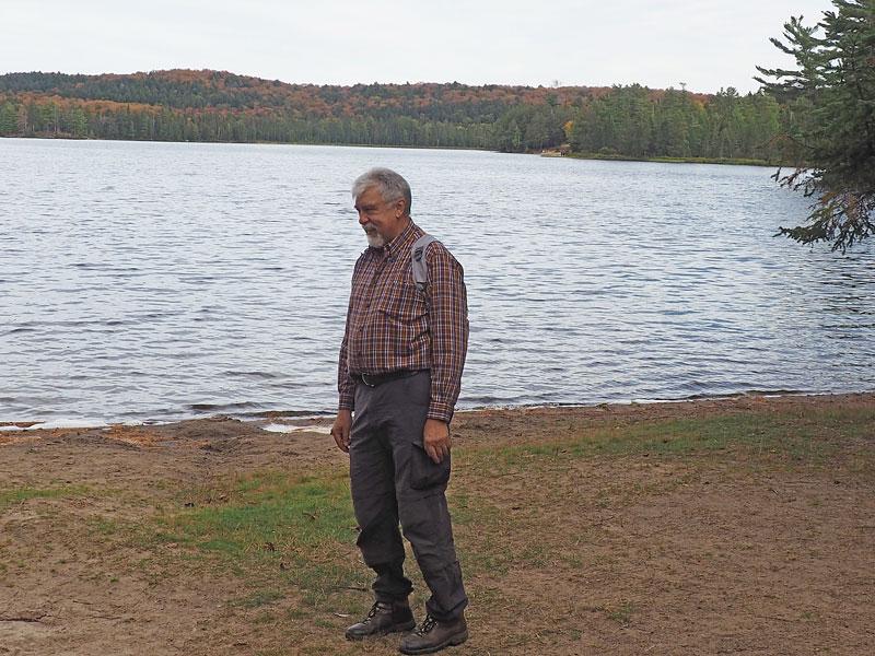 Bild 13 Wanderung zum Canisbay Lake