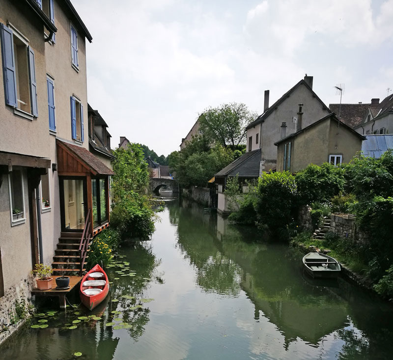 Bild 17 Am Fluß L'Eure in Chartres