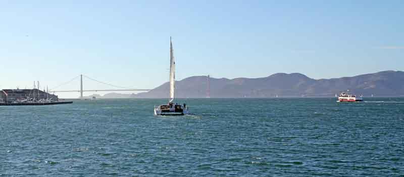 Bild 13 Blick auf die Golden Gate