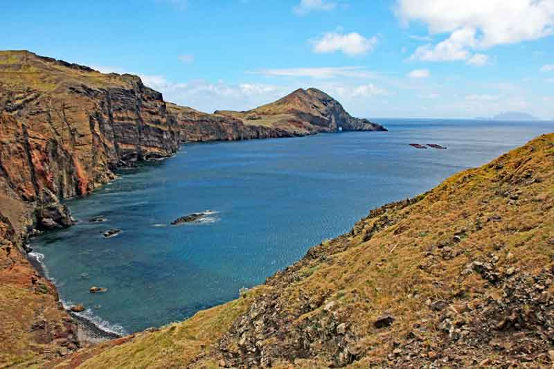 """Bild 10 Auf dem Weg zur östlichsten Spitze von Madeira dem """"Ponta de Sao Laurenco"""""""