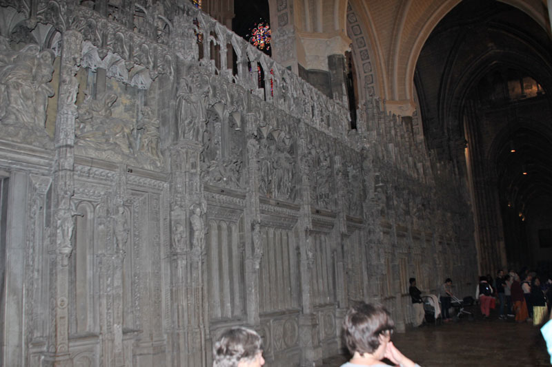 Bild 9 Kathedrale von innen in Chartres