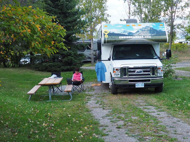 Bild 17 Unser Platz auf dem Five Points Campground