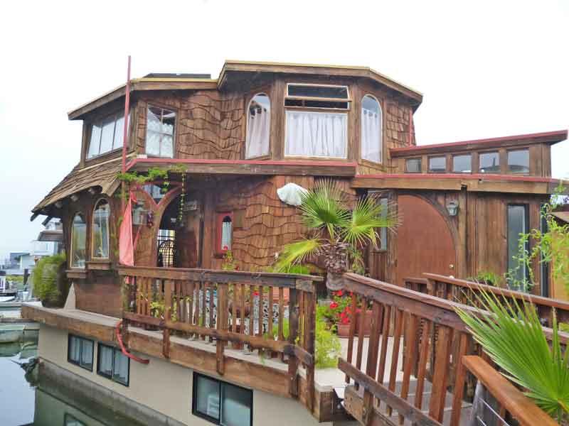Bild 22 In der Hausbootsiedlung in Sausalito