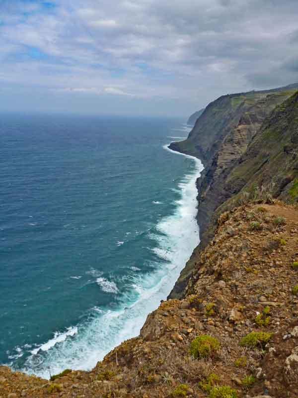 Bild 7 Blick aufs Meer vom Leutturm von Ponta do Pargo
