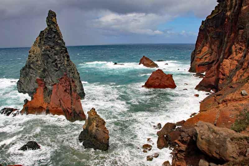 """Bild 13 Auf dem Weg zur östlichsten Spitze von Madeira dem """"Ponta de Sao Laurenco"""""""