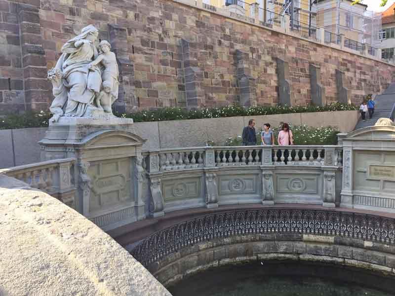 Bild 4 An der Donauquelle in Donaueschingen