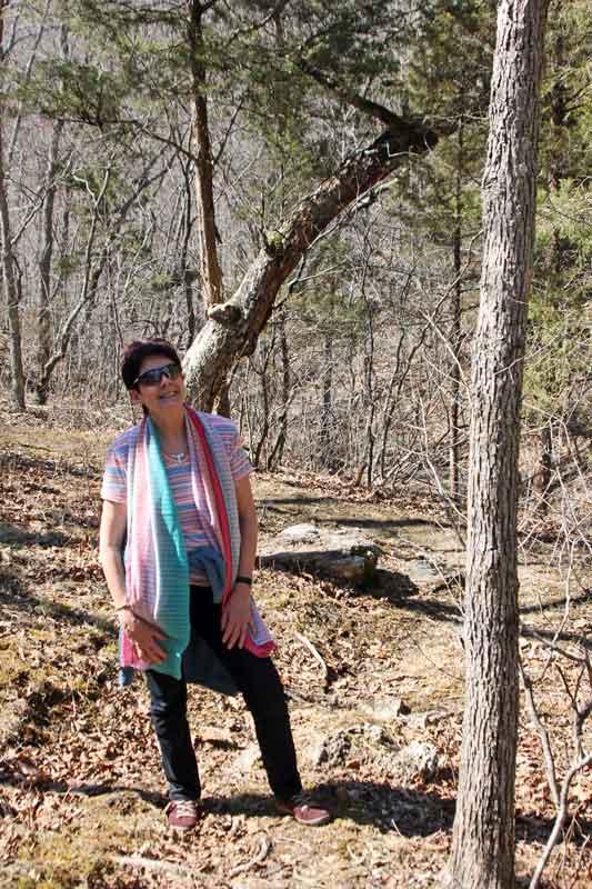 Bild 12 Unterwegs auf dem Oak Trail im Ondanaga State Park
