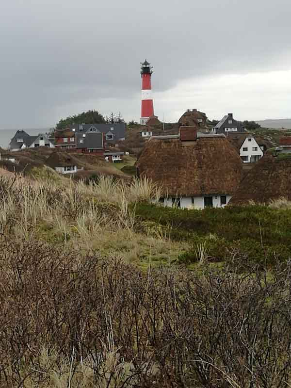 Bild 10 Blick auf den Leuchtturm von Hörnum