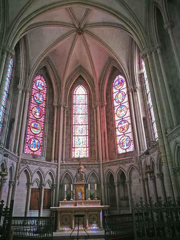 Bild 37 In der Kathedrale von Bayeux