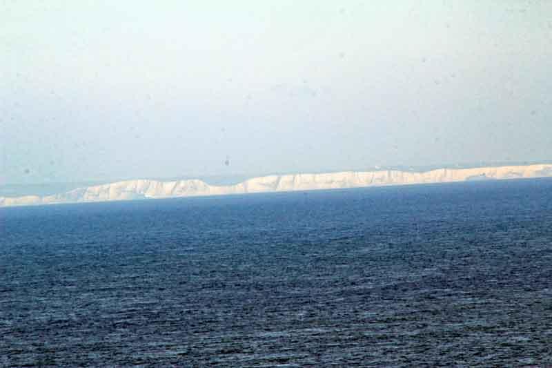 Bild 4 Blick auf die Küste von England von der Aussichtsplattform am Cap Gris Nez