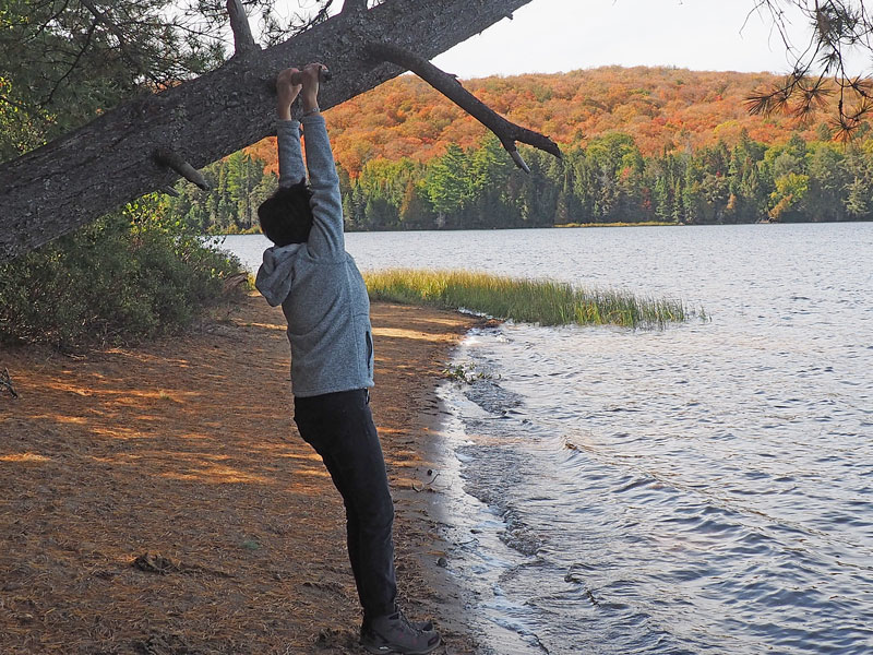 Bild 7 Wanderung zum Canisbay Lake