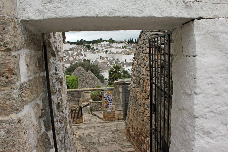 Alberobello am Morgen