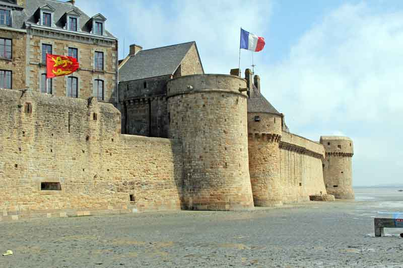 Bild 9 Vor Mont-Saint-Michel